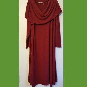 Soft Surroundings Maxi Sweater Dress
